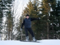 Kartais mes ir slidinėjame